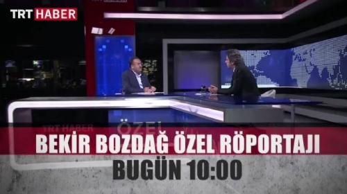 Bakan Bozdağ TRT Haberde