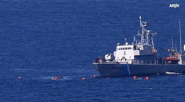 Egede sığınmacı teknesi battı