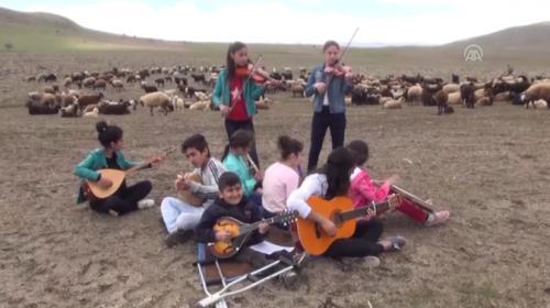 Muşlu genç müzisyenlerin gayretleri...
