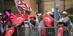 Ermeni diasporasının gösterisi Türkler tarafından bastırıldı