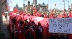 Kanadalı Ermenilerin sözde soykırım protestosu sönük geçti