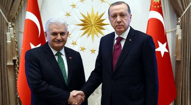 Cumhurbaşkanı Erdoğan, Başbakan Yıldırım ile görüşecek