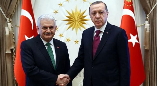 Cumhurbaşkanı Erdoğan Başbakan Yıldırımı kabul etti