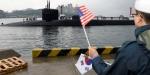 ABD, en büyük denizaltılarından birini Güney Kore'ye gönderdi