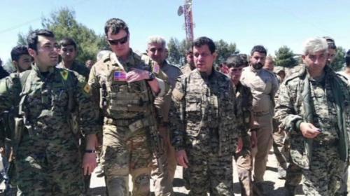 TSK vurdu, ABDli komutan ziyaret etti