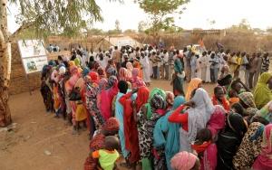 Türkiye Diyanet Vakfından Sudandaki mültecilere gıda yardımı