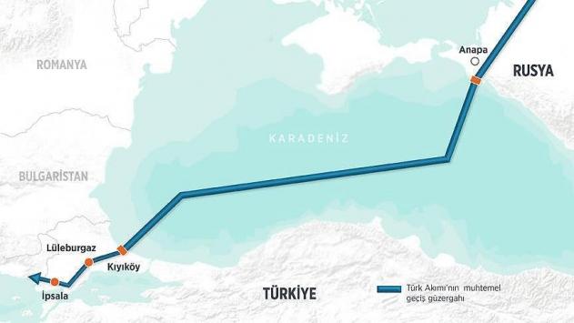 Türk Akımının inşaatı bu yaz başlayacak