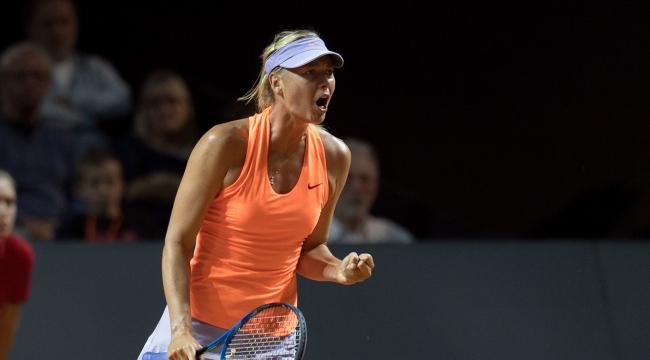 Sharapova, Stuttgart Açıkta çeyrek finale yükseldi