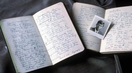 Kennedynin günlüğü 718 bin dolara satıldı