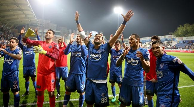 Kasımpaşa, yarı final ilk maçında Atiker Konyasporu yendi