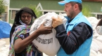 Diyanetten Eritreli mültecilere yardım