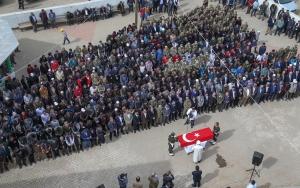 Kırgız Türkü şehit son yolculuğuna uğurlandı