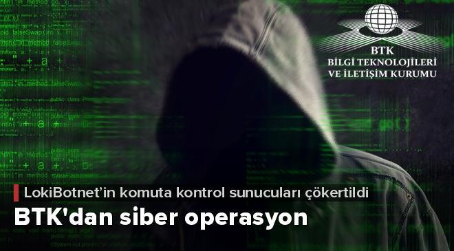 BTKdan zararlı yazılıma siber operasyon