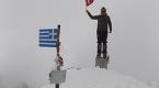"""Bursalı dağcılar """"Yunanistanın zirvesi""""ne tırmandı"""