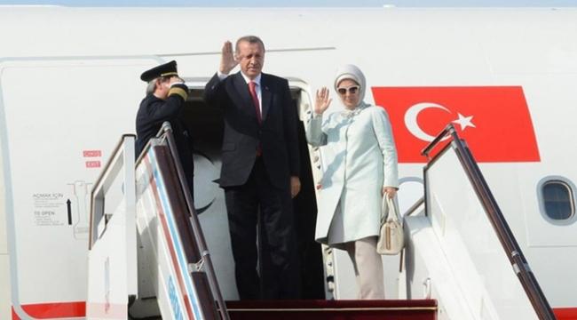 Cumhurbaşkanı Erdoğan, Hindistana gitti