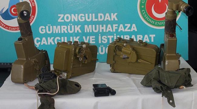 Zonguldak Limanında antitank füzesi parçaları bulundu