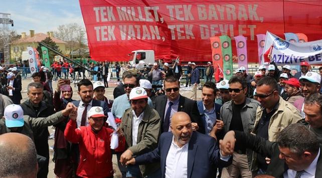 Hak-İş 1 Mayısı Erzurumda kutladı