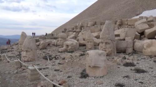 Kültür mirası Nemrut Dağı