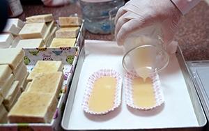 Öğrenciler Van Gölü suyundan sabun üretti