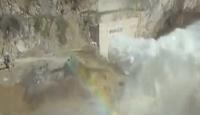 Adana'daki Baraj Faciası Böyle Görüntülendi