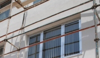 Otel İnşaatında Kaza: 4 Yaralı