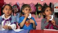 Okullarda Süt Dağıtımı Başladı