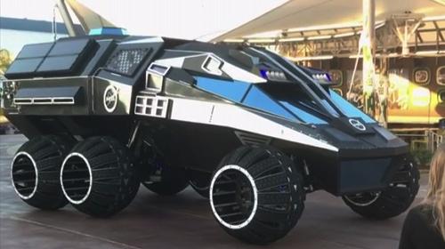 NASAdan Mars için Batmobile