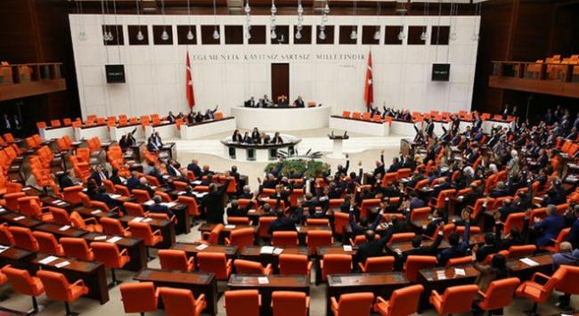 Sanayi ve üretime destek tasarısı Meclise sunuldu
