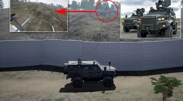 Zırhlı araçlara tepegöz koruması
