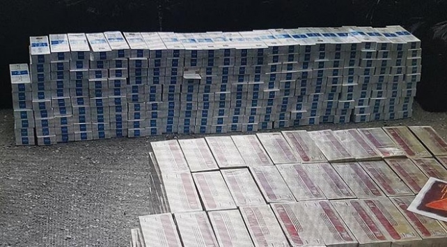 3 milyon paket kaçak sigara ele geçirildi