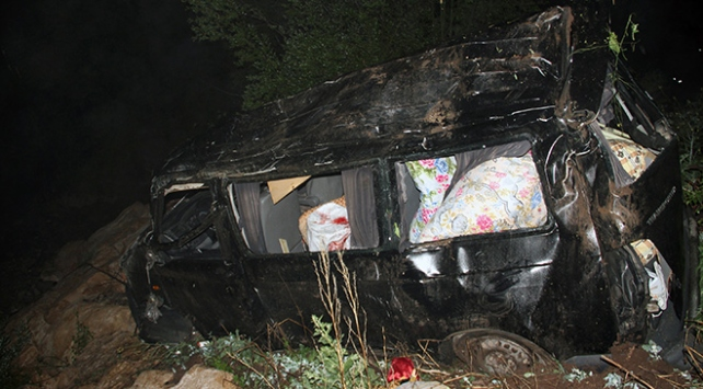 Cenaze yolunda trafik kazası: 2 ölü, 4 yaralı