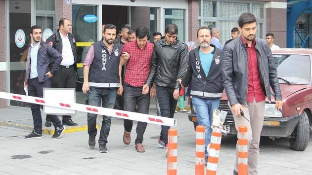 Konyada rehin alınan İranlı kurtarıldı