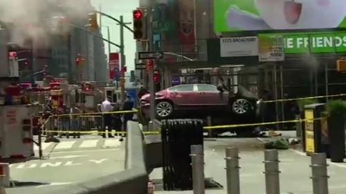 ABDdeki kaza görüntüleri