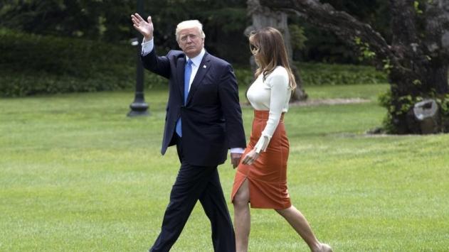 Trump, ilk yurt dışı seyahatine çıktı