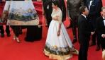 İsrailli bakandan Cannesda skandal elbise