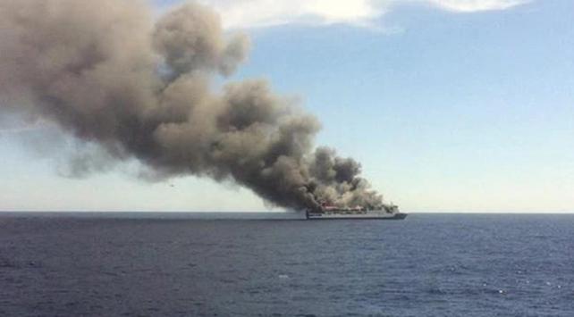 Feribotta çıkan yangında 5 kişi hayatını kaybetti