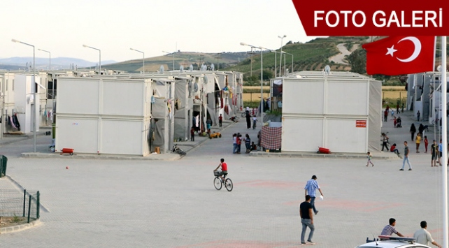 Sığınmacıların yaşadıkları barınma merkezi yenilendi