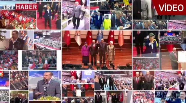 AK Parti Olağanüstü Kongresi Özel Yayını TRT Haberde