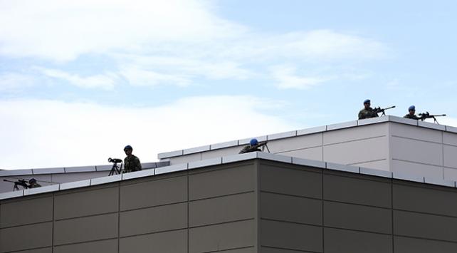 """Genelkurmay """"çatı davası"""" için sıkı güvenlik önlemleri alındı"""