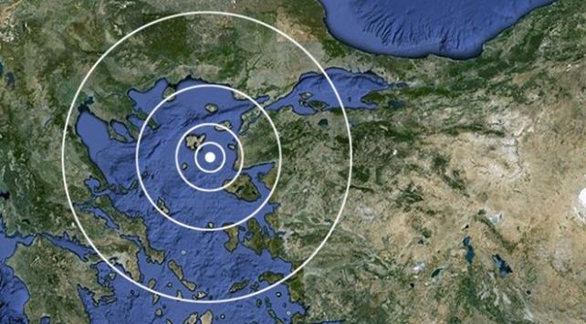 Ege Denizinde 4,3 şiddetinde deprem