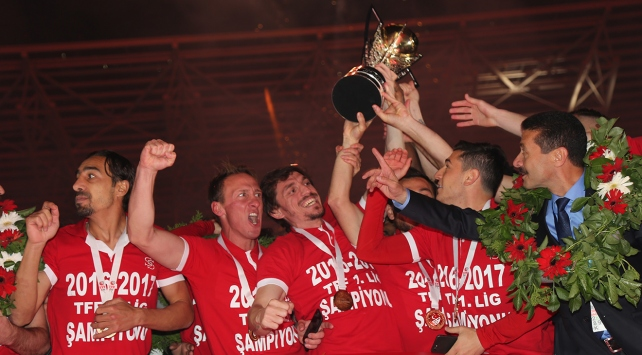 TFF 1. Ligin şampiyonu Sivasspor