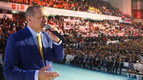 Erdoğan: Ne yaparlarsa yapsınlar, bu yoldan dönmeyiz
