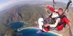 87 yaşında yamaç paraşütü sosyal medyayı salladı