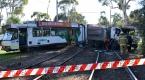 Avustralyada tramvay ve kamyon çarpıştı
