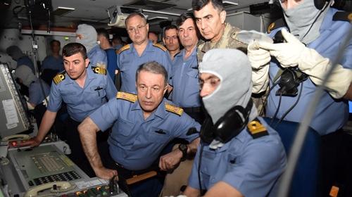 Genelkurmay Başkanı Denizkurdu 2017 Tatbikatını izledi
