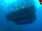 Askeri tank denize böyle batırıldı