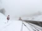 Sivas'ta mayıs ayının sonlarında kar yağdı