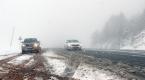 Sivasta kar yağışı