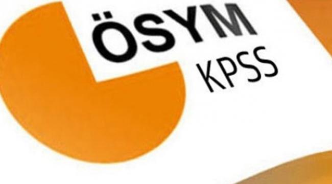 21 Mayıstaki KPSS sınavının soru kitapçığı erişimde
