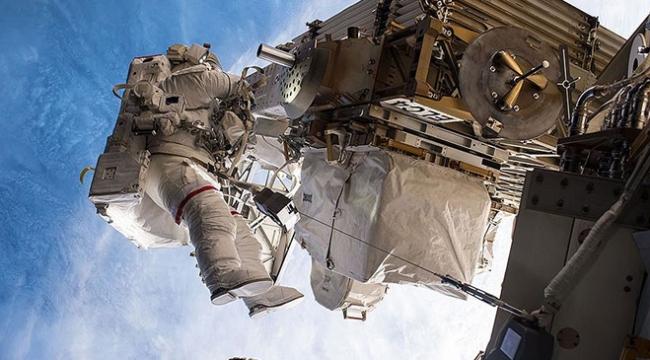 Uluslararası Uzay İstasyonunun tamiri başladı
